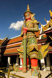 Riese am Wat-Phra-Si-Rattana-Satsadaram Stockfotos