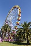 Riesenrad auf Geelongs-Ufergegendpromenade Lizenzfreies Stockbild