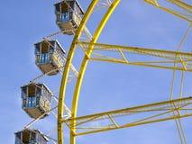 Riesenrad beim Oktoberfest, München, Deutschland Stockfotografie