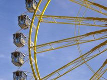 Riesenrad beim Oktoberfest, München, Deutschland Stockfoto