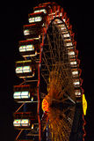 Riesenrad beim Oktoberfest nachts Stockbilder
