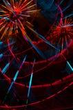 Riesenrad das Nachtfestival Lizenzfreie Stockfotos