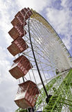 Riesenrad an der Messe lizenzfreie stockfotografie