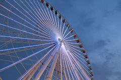 Riesenrad-Dubai-Park lizenzfreies stockfoto