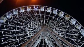 Riesenrad-Dunkelheitsnacht stock footage