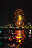 Riesenrad herein Batumi Stockfoto
