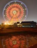 Riesenrad herein den Kinderpark Stockfotos