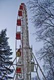 Riesenrad herein den Park Lizenzfreie Stockfotografie