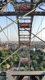 Riesenrad herein den Prater-Vergnügungspark in Wien stockfotografie