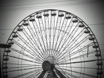 Riesenrad herein New-Jersey stockbilder