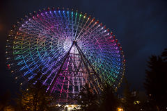 Riesenrad herein Osaka Stockbild