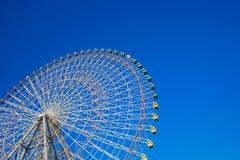 Riesenrad herein Osaka Japan Lizenzfreies Stockbild