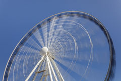 Riesenrad innen Bewegung Stockfoto