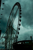 Riesenrad innen Shanghai Stockfoto