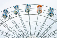 Riesenrad innen Vergnügungspark Stockfotografie