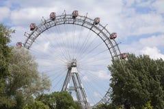 Riesenrad innen Wien Lizenzfreies Stockbild