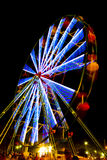 Riesenrad am Karneval Lizenzfreie Stockfotos