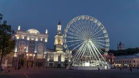 Riesenrad Kiew, Ukraine stock video footage