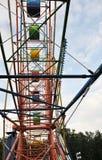 Riesenrad nach innen Stockfoto