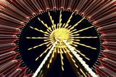 Riesenrad an night Lizenzfreie Stockbilder