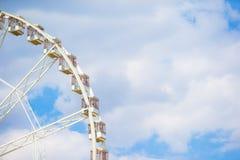 Riesenrad Roue De Paris auf dem Platzde-La Stockbild