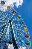 Riesenrad. Vertikal Stockbild