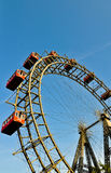The riesenrad in vienna-giant ferris wheel Stock Photos