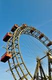 The riesenrad in vienna-giant ferris wheel Stock Photos