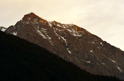 Rieserfernergruppe mountain range Royalty Free Stock Image