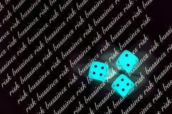 Riesgo de Bussines Imagen de archivo
