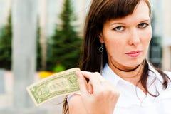 Riesgo financiero Fotografía de archivo libre de regalías