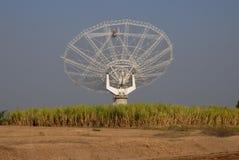 Riesig Messinstrument-bewegen Sie Radioteleskop, GMRT, Indien wellenartig. lizenzfreie stockfotografie