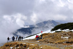 Riesige Berge, Tschechische Republik Lizenzfreie Stockbilder