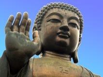 Riesige Buddha-Statue stockfoto