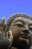 Riesige Buddha-Statue stockbild