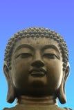 Riesige Buddha-Statue Stockfotografie