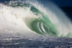Riesige hohle Welle lizenzfreies stockfoto