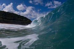 Riesige hohle Welle stockfotografie