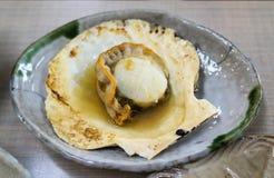 Riesige Kamm-Muschel-Grill Stockfotografie