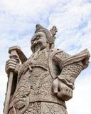 Riesige Kriegersstatue Stockbild