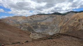Riesige Kupfermine stock video footage