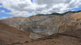 Riesige Kupfermine stock footage