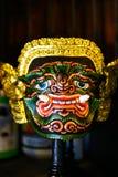 Thailändische riesige khon Maske Lizenzfreie Stockfotos