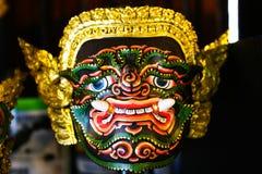 Thailändische riesige khon Maske Stockbild