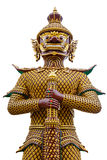 Riesige Skulptur am Tempel in Thailand Lizenzfreies Stockfoto