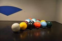 Riesige Snookerbälle Stockfoto