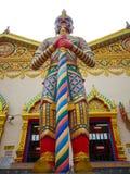 Riesige Statue bei Wat Chaiyamangalaram Penang Malaysia Stockfoto