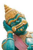 Riesige Statue bei Wat Kok Mai Daeng, Phitsanulok, Thailand-isola Lizenzfreie Stockbilder