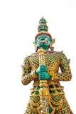Riesige Statue im Tempel, Generalily in Thailand, irgendeine Art Kunst verziert in der buddhistischen Kirche. Sie sind public doma Stockbilder