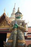 Riesige Statue A Thailands K A yak Lizenzfreie Stockfotografie